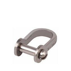 Allen Forged Dee shackle with slotted 4mm pin