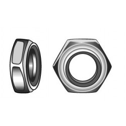 Hexagon full nuts M6 - stainless steel
