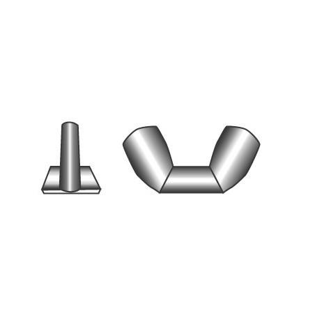 Self-Locking nuts M6- stainless steel