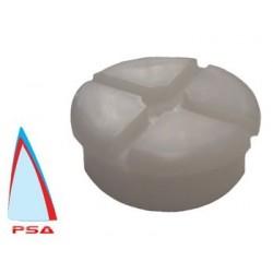 Laser platic base plug lower radial mast