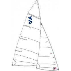Windesign 420 training sails