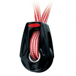 Ronstan serie 20 Single, Dyneema lashing, becket option