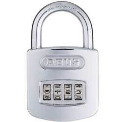 ABUS Combination lock with resettable code