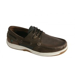 Dubarry Regatta Deck Shoes, Donkey Brown Nubuck