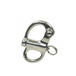 Fixed snap shackle 52mm