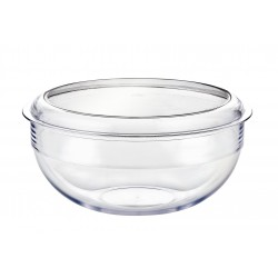 Palm  Salad Bowl and lid