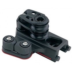 Harken 27 mm End Control, Double Sheave, Cam Cleat, Set of 2