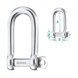 Wichard Shackle  self-locking long 4mm