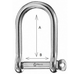 Wichard Shackle  self-locking bow 20mm