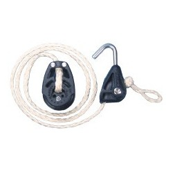 Optiparts Halyard with hook-in blocks