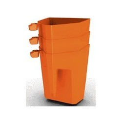 Optiparts Handbailer NEW 4.2 litre, color orange
