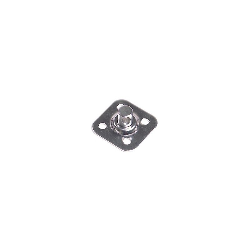 Optiparts Swivel base plate, four 5 mm holes