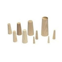 Tapered Wood Emergency Plugs - Set of 9