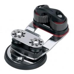 Harken Micro Cam Base — Swivel, 16 mm Sheaves