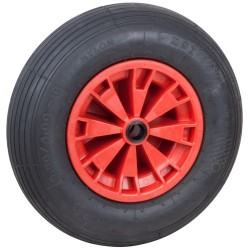 Optiparts Spare pneumatic wheel, 40.5cm