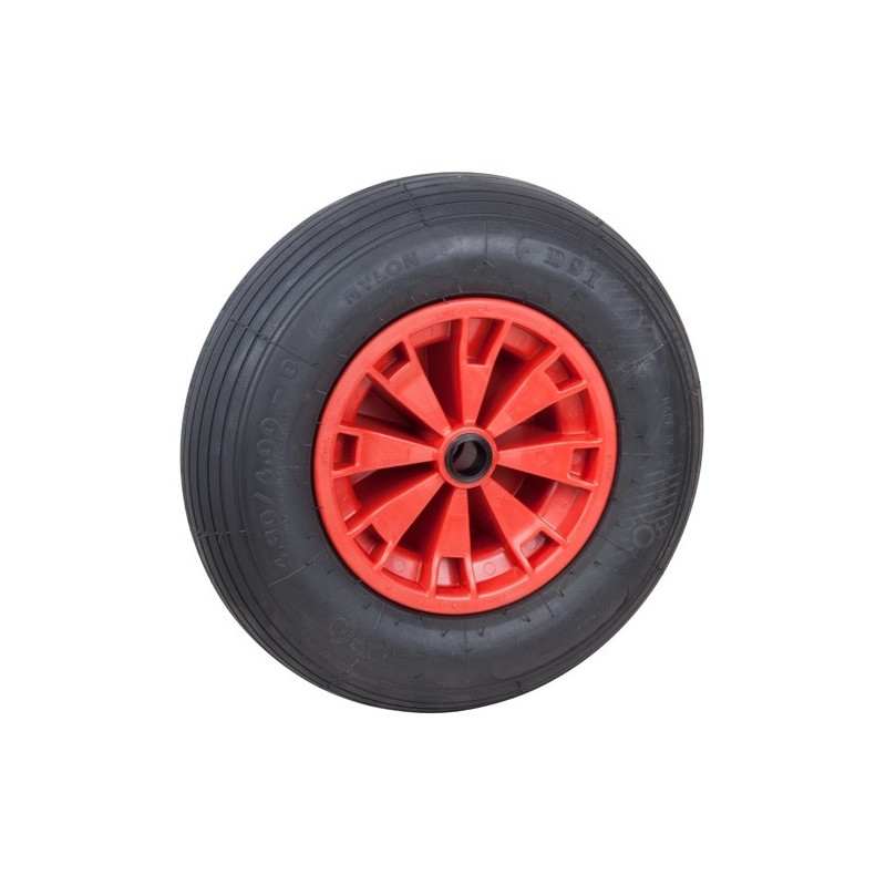 Optiparts Spare pneumatic wheel, 40.5cm
