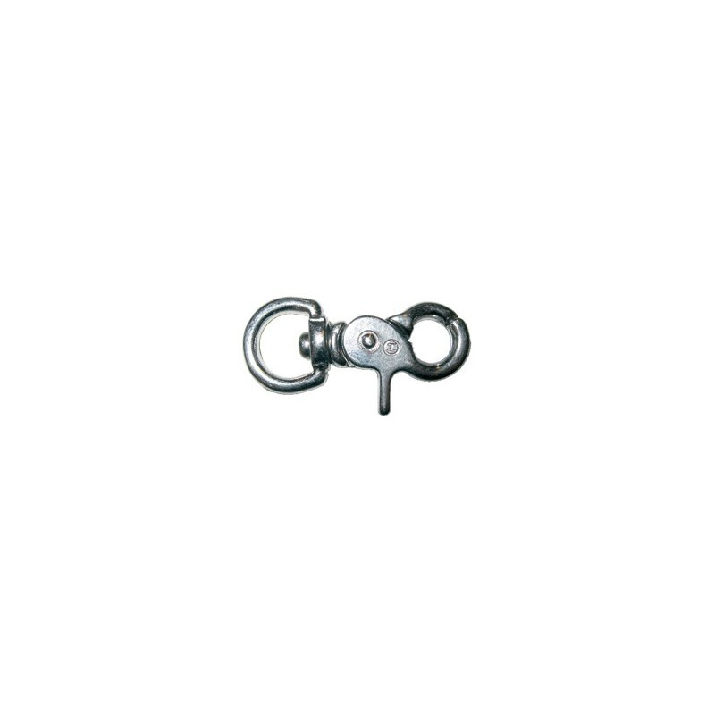 Optiparts Small stainless steel safety snap shackle