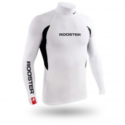 Rooster Rash Vest Long Sleeve - Signal Blue