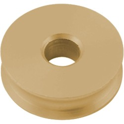 Allen Plain bearing / sheave brass 16x6x6mm