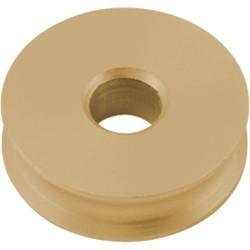Allen Plain bearing / sheave brass 16x6x6mm