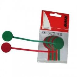 RWO Shroud Telltales (pack of 1 Pair: red and green)