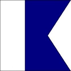 Signal flag A