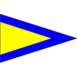 Signal flag - Pennant-First Repeater