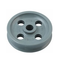 Allen Plain bearing / sheave Acetal Resin 38x12x8mm