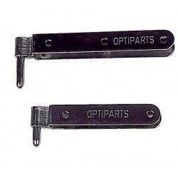Optiparts rudder pintles 1 x long and 1 x short