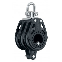 Harken 57 mm Triple Block — Swivel, Becket