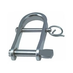 Allen Strip shackle with key 5mm pin and extra 3mm pin and ring
