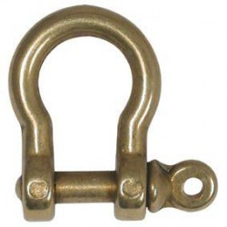 Plastimo Brass Bow Shackle 5mm