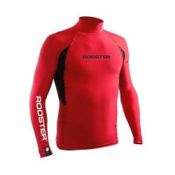 Rooster Rash Vest Long Sleeve - Red