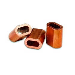 Copper Ferrule for Crimping Wire Rope