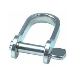 Allen Strip D shackle with standard 4mm pin