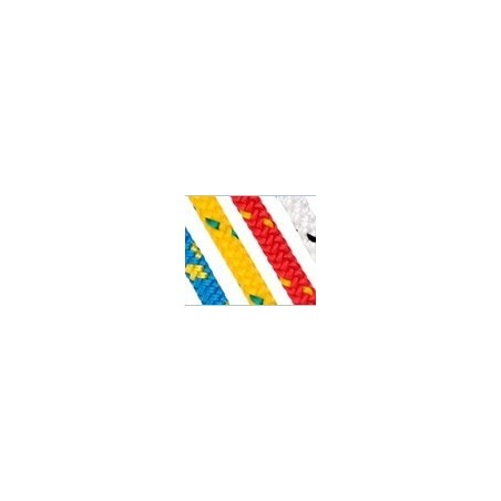 Towing & Rescue rope 8mm Yellow/Red fleck
